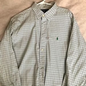 Polo by Ralph Lauren Shirt in Green and Black